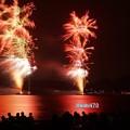 Photos: 海岸の花火大会、逗子4!130601
