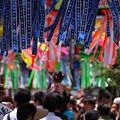 Photos: 七夕祭りと肩車!130706