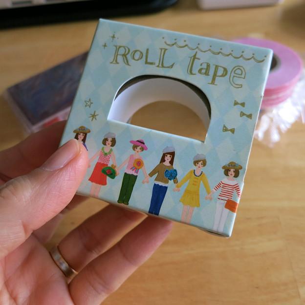 ロールテープ2種類目