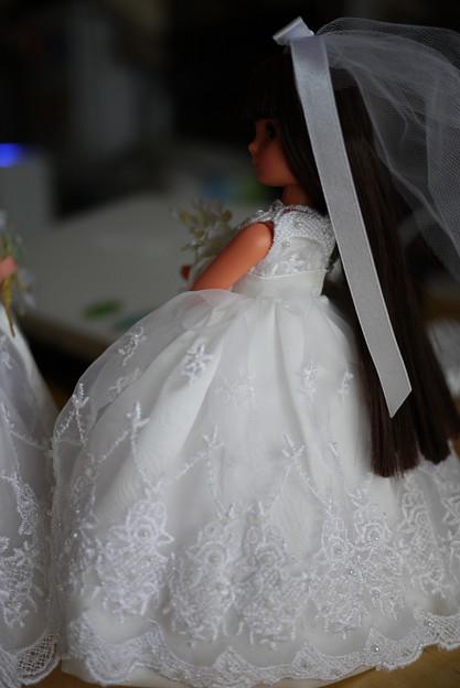 日焼け肌の花嫁さん