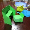 Photos: 姪っ子の折り紙