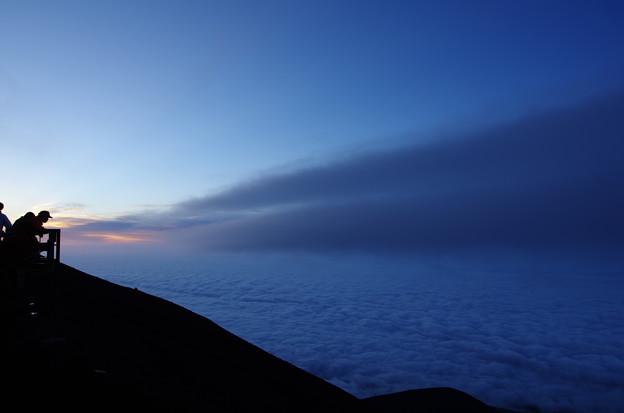 写真: 富士登山7