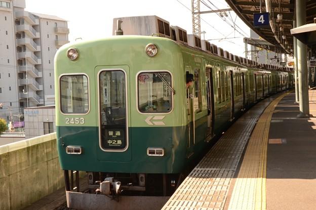 京阪オリジナル色2453F♪