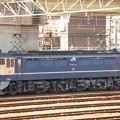 Photos: EF65 1104号機(田)チキ貨物で宇都宮貨物(タ)到着後の単回発車待ち
