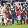 Photos: 明日の試合の前にヨルダン戦前半の画像upしてまう(`・ω・´)国歌斉唱