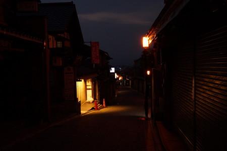 清水寺参道夜間