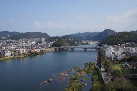 犬山城眺め