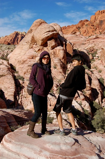 Red Rock Canyon Kane and Rie