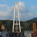 写真: 吊橋