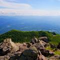 Photos: 岩木山山頂より奥羽山脈を望む