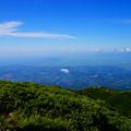 Photos: 岩木山より望む日本海・七里長浜と津軽平野