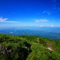Photos: 岩木山火口より望む津軽平野