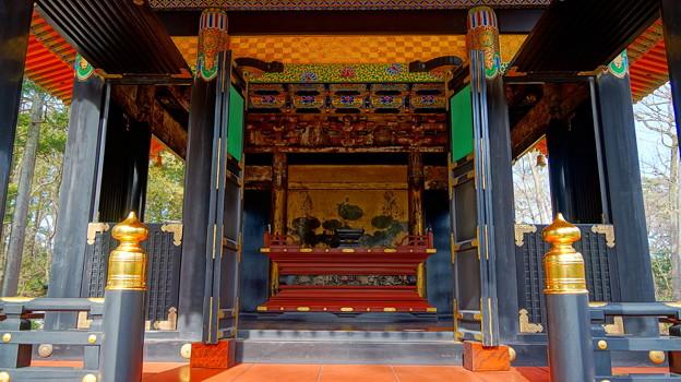 東京都指定有形文化財 【旧自証院霊屋】