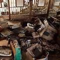 Photos: 廃虚の二階・・・