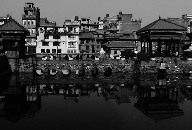 水面鏡@ネパール