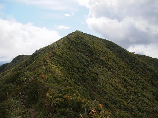 神室山とりつき