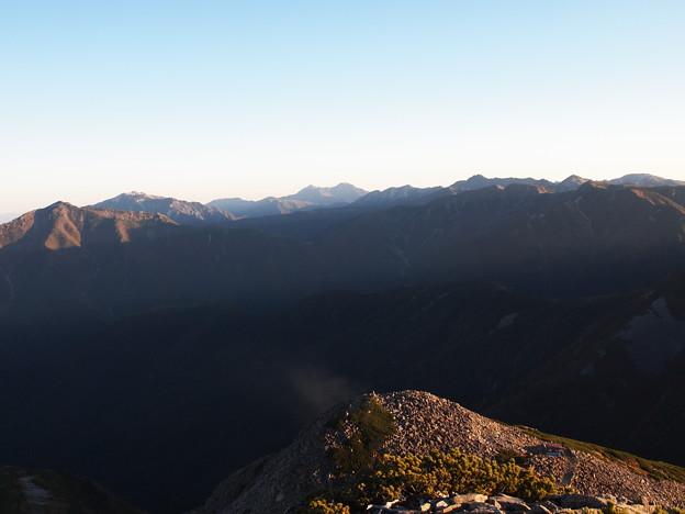 Photos: 北アルプスの山並み