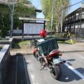 写真: 130506-3中部地方ツーリング・高島城・駐車場での愛車