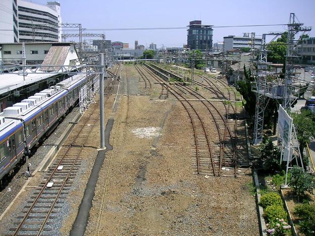 南海堺東駅・車庫線・留置線