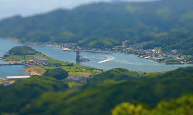 平生港を眺めて