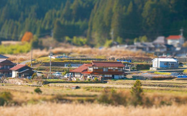 石州瓦の日本家屋