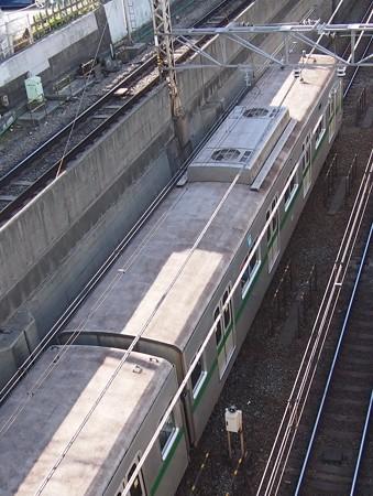 東京メトロ6000系屋根上(6130編)