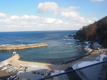 北リアス線堀内〜白井海岸(大沢橋梁)