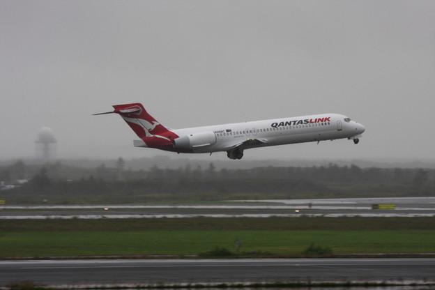 Boeing 717 N406BC QantasLink 2013.09