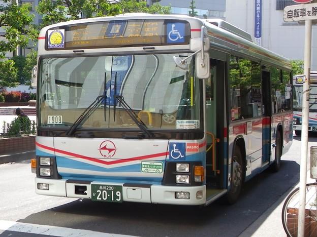 京浜急行バス いすゞエルガ PKG-LV234L2 M1909