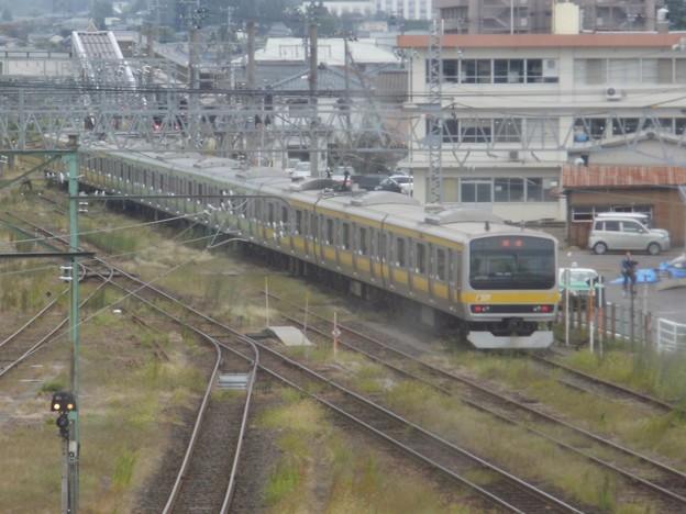 E231系三鷹車B27編成(サハE231 4600込)