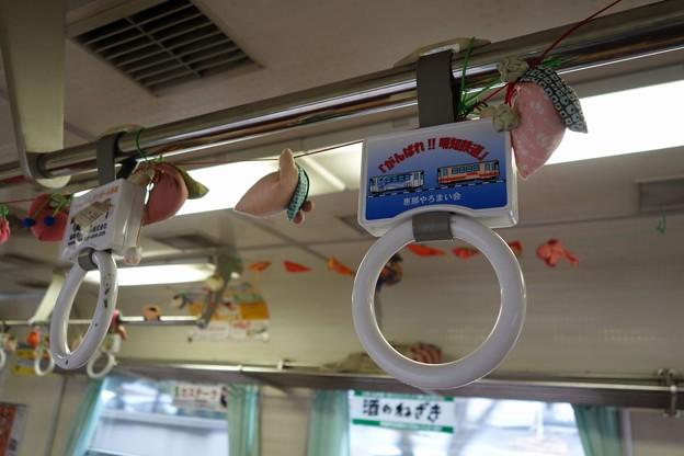 明知鉄道 車内(2)