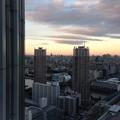 Photos: 夕暮れ時の空模様
