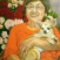 犬猫ペット油彩肖像画