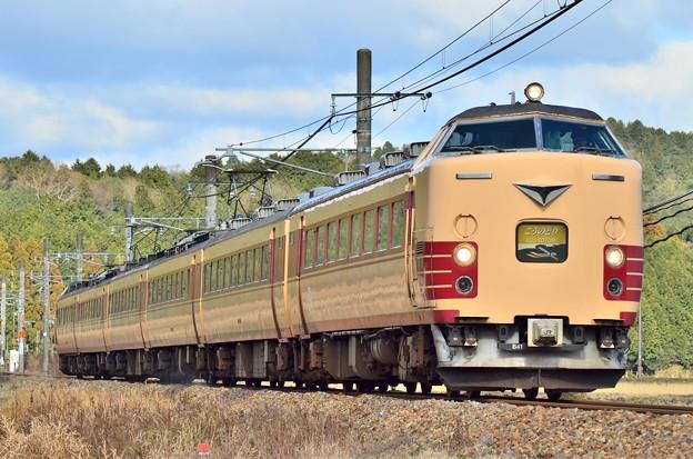 ローアン183系 国鉄色