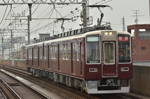 阪急8201F 回送