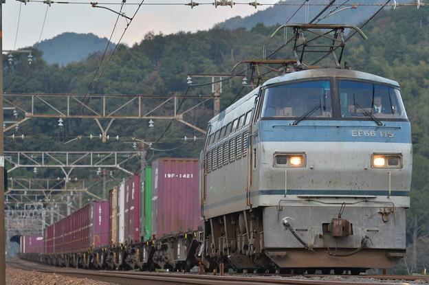 遅5065レ EF66 115号機