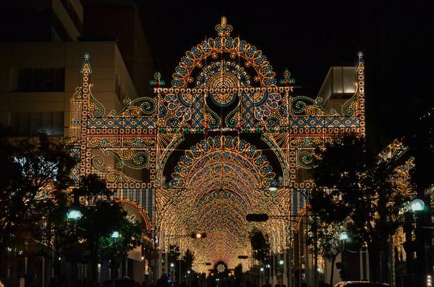 神戸ルミナリエ2013 試験点灯
