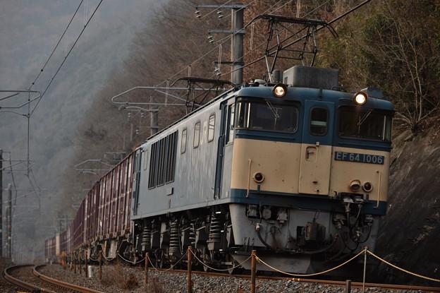 伯備線 3084レ EF64 1006