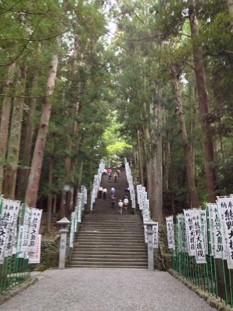 熊野本宮大社 階段