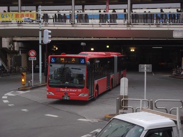 ツインライナー / Kanachu, articulated bus @ Machida