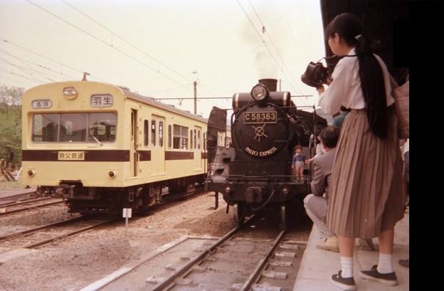Chichibu / ex-JNR EMU101 and C58 363 steam
