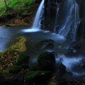 静寂につつまれて(兵庫県新温泉町 猿壷の滝)
