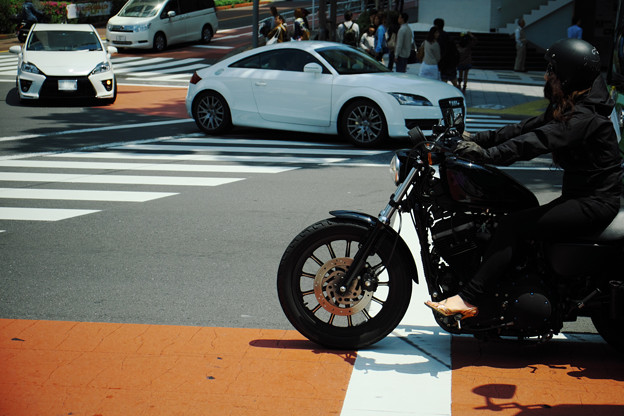 黒ヘルライダー