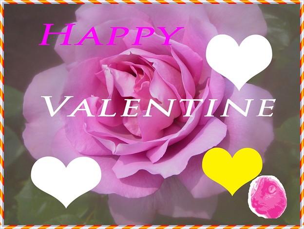 「ごま流の・・バレンタィンカード・・」です ・・・・