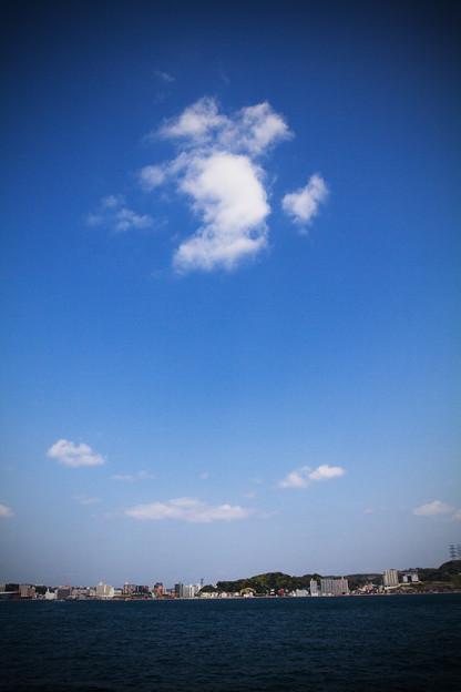 門司港の空
