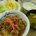 牛めしサラダセット370円