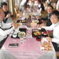 写真: チーム対抗戦コンペお昼の1組目2014.3.23