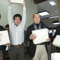 Photos: チーム対抗戦コンペ第2位の2組目2014.3.23