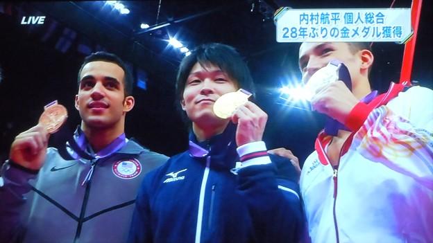 体操内村 金メダル獲得 in ロンドン五輪