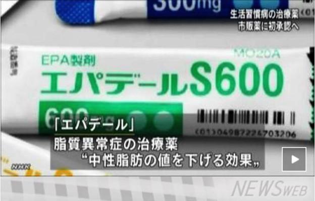 エパデールS600 EPA製剤